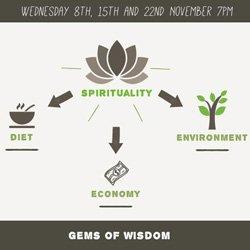 Spirituality & diet, environment & economy Gems of Wisdom